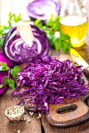Photo pour red cabbage - image libre de droit