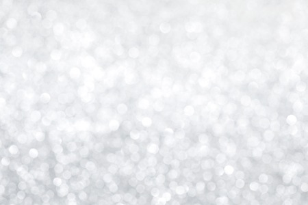 Photo for Silver bokeh abstract light holiday background - Royalty Free Image
