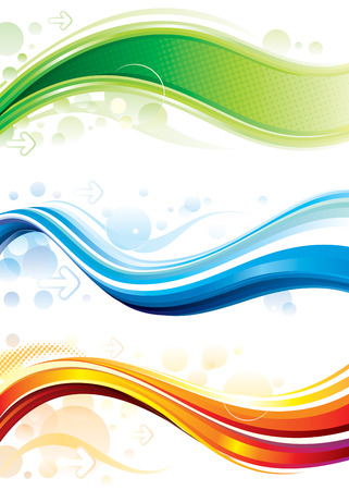 Set of technology web background/banner