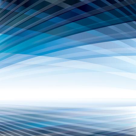 Illustration pour Abstract virtual perspective space background. - image libre de droit