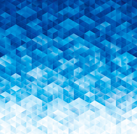 Illustration for Abstract geometric blue texture background. - Royalty Free Image
