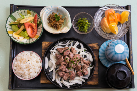 Japanese meals