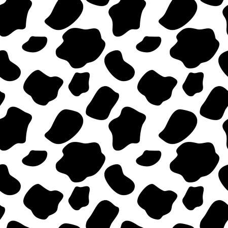 Photo for Cow Seamless Pattern Background Illustration - Royalty Free Image