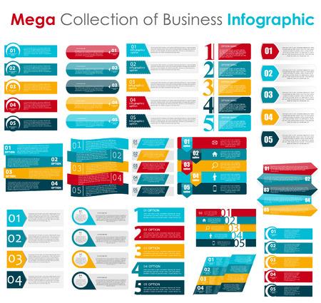 Illustration pour Infographic Templates for Business Vector Illustration. - image libre de droit