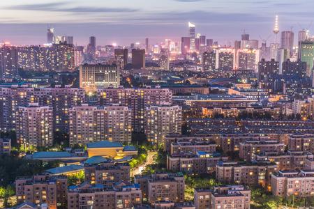 Photo pour shenyang nightscape of China - image libre de droit