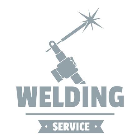 Ilustración de Welding workshop logo. Simple illustration of welding workshop vector logo for web - Imagen libre de derechos