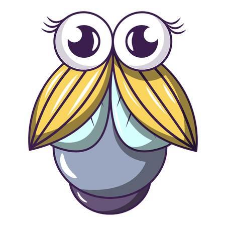 Ilustración de Big fly icon. Cartoon illustration of big fly vector icon for web - Imagen libre de derechos