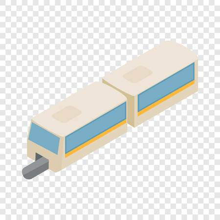 Foto per High-speed train isometric icon - Immagine Royalty Free