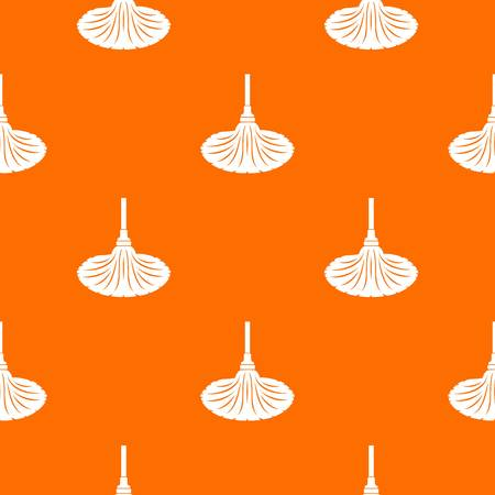 Illustration pour Sweeping pattern vector orange - image libre de droit