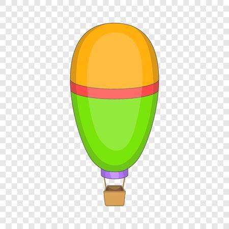 Illustration pour Oval balloon icon, cartoon style - image libre de droit