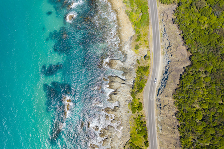 Photo pour Great Ocean Road in Australia - image libre de droit