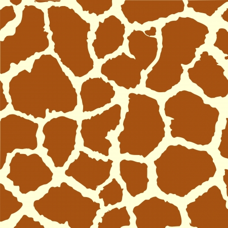 Illustration pour Seamless spotted Giraffe Skin Background.  - image libre de droit