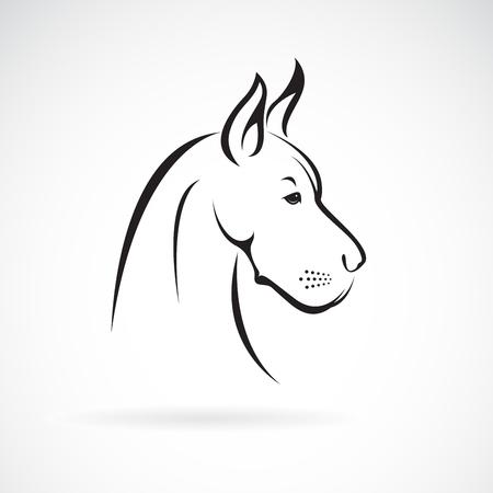 Ilustración de Vector of a dog head - Imagen libre de derechos