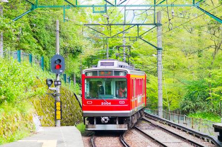 hakone mountain railway,kanagawa,japan