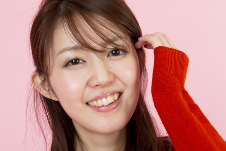 Young beauty woman  Portrait of asian woman