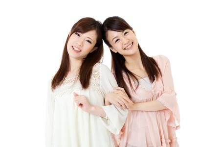 Beautiful young women  Portrait of asian