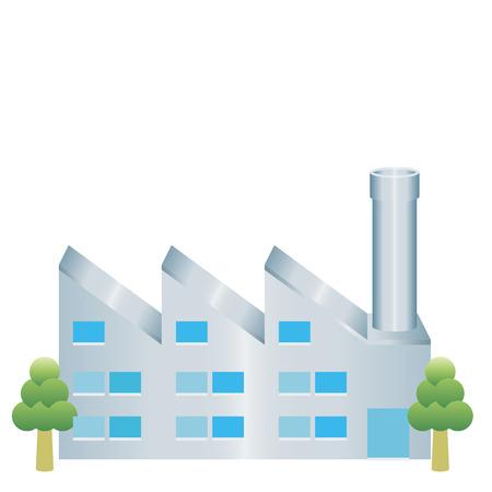 Ilustración de factory icon - Imagen libre de derechos