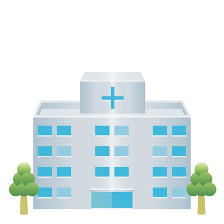 Illustration pour hospital icon - image libre de droit