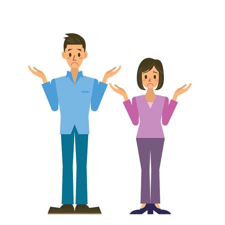 Ilustración de couple - Imagen libre de derechos