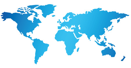 Photo for World map Vector - Royalty Free Image