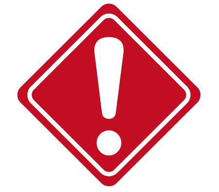 Illustration pour warning sign Vector - image libre de droit