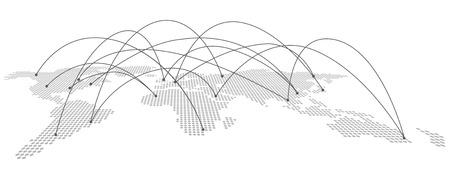 Ilustración de World map Vector - Imagen libre de derechos