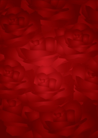 Foto de red roses background - Imagen libre de derechos