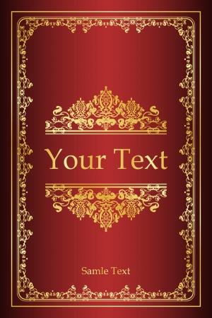 Book cover - vintage background
