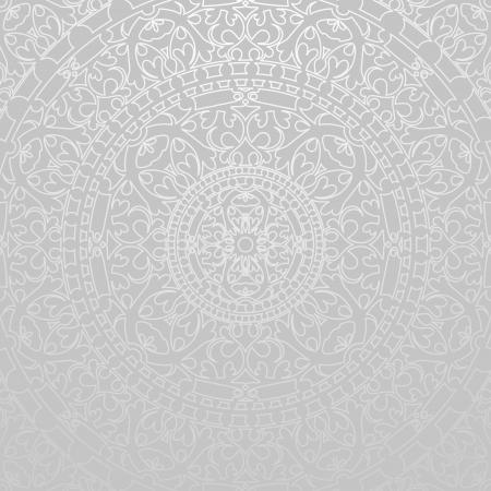 Photo pour gray background with oriental decorations - image libre de droit