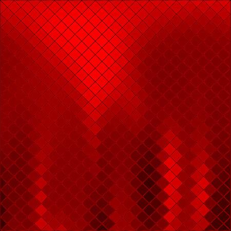 Illustration pour Vector abstract red background - image libre de droit