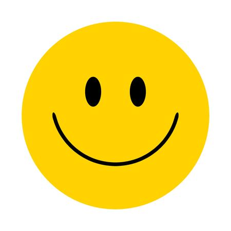 Illustrazione per Smiley. Vector happy face - Immagini Royalty Free