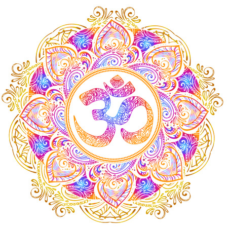 Illustration pour Isolated image mandala vector illustration. - image libre de droit