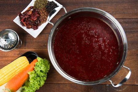 Photo for chinese spicy hotpot - Royalty Free Image