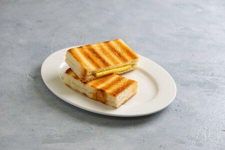 Foto de kaya toast with butter, malaysian style - Imagen libre de derechos