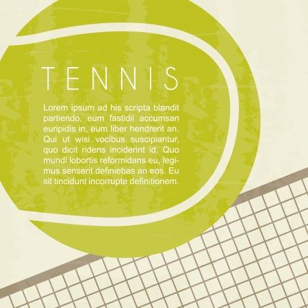 tennis design over white background vector illustration