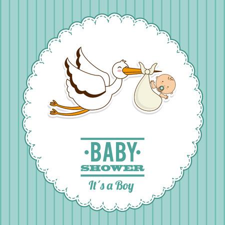 Ilustración de baby graphic design , vector illustration - Imagen libre de derechos