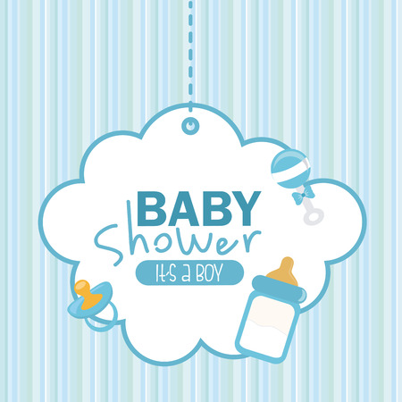 Photo pour baby shower graphic design , vector illustration - image libre de droit