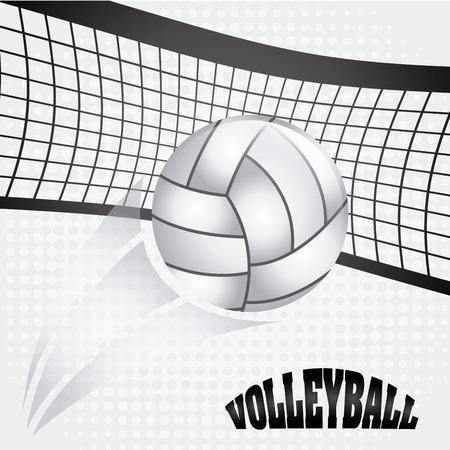 Ilustración de volleyball ball design, vector illustration eps10 graphic - Imagen libre de derechos