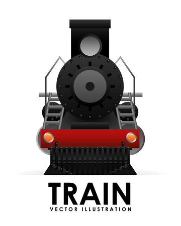 Illustration pour train icon design, vector illustration eps10 graphic - image libre de droit