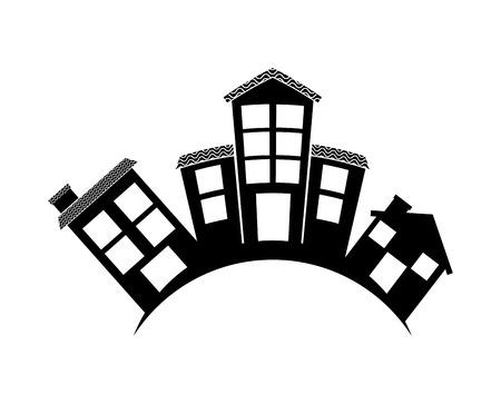 Illustration pour welcome neighborhood design, vector illustration eps10 graphic - image libre de droit