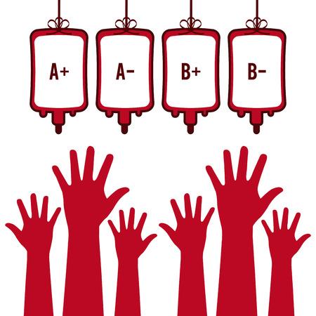 Ilustración de donate blood design. - Imagen libre de derechos