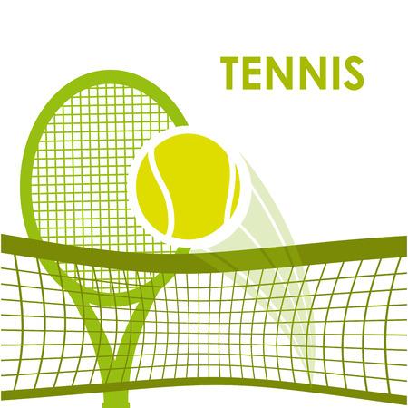 Illustration pour tennis sport design, vector illustration eps10 graphic - image libre de droit
