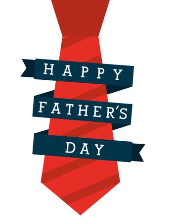 Illustration pour happy fathers day design, vector illustration eps10 graphic - image libre de droit