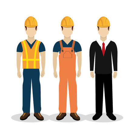 Illustration pour Construction design over white background ,vector illustration. - image libre de droit