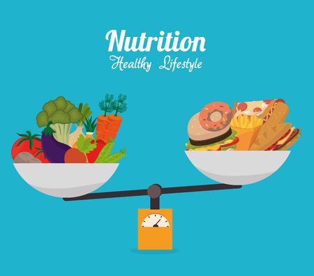 Ilustración de Food design, vector illustration eps 10. - Imagen libre de derechos