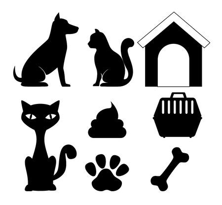 Illustration pour Pet digital design, vector illustration eps 10. - image libre de droit