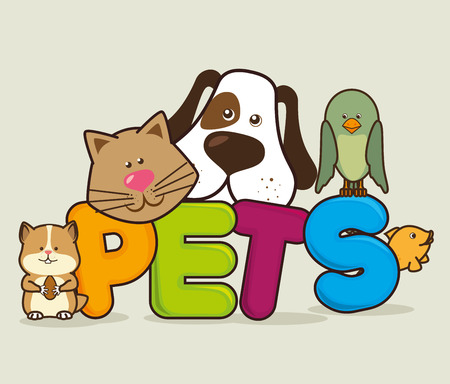 Ilustración de Pet shop design, vector illustration eps 10. - Imagen libre de derechos