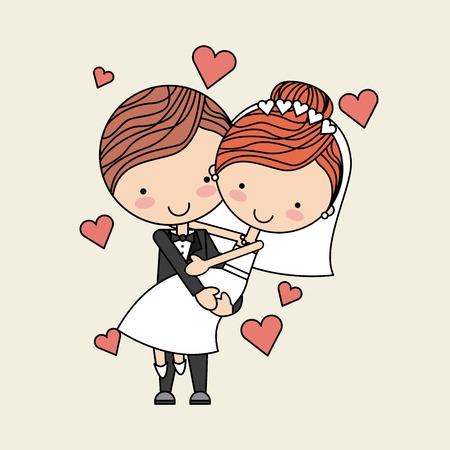 Foto de love card design, vector illustration eps10 graphic - Imagen libre de derechos