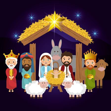 Ilustración de Merry christmas cartoons, vector illustration graphic eps10 - Imagen libre de derechos