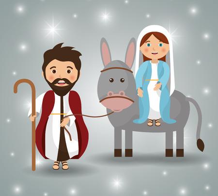 Illustration pour Merry christmas cartoons, vector illustration graphic eps10 - image libre de droit